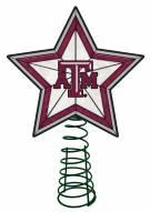 Texas A&M Aggies Light Up Art Glass Tree Topper