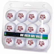 Texas A&M Aggies Dozen Golf Balls