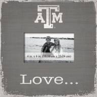Texas A&M Aggies Love Picture Frame