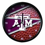 Texas A&M Aggies Football Clock