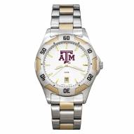 Texas A&M Aggies Men's All-Pro Two-Tone Watch