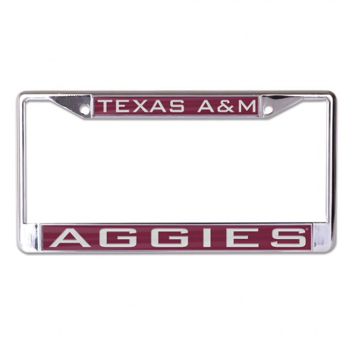 Texas A&M Aggies Metal License Plate Frame