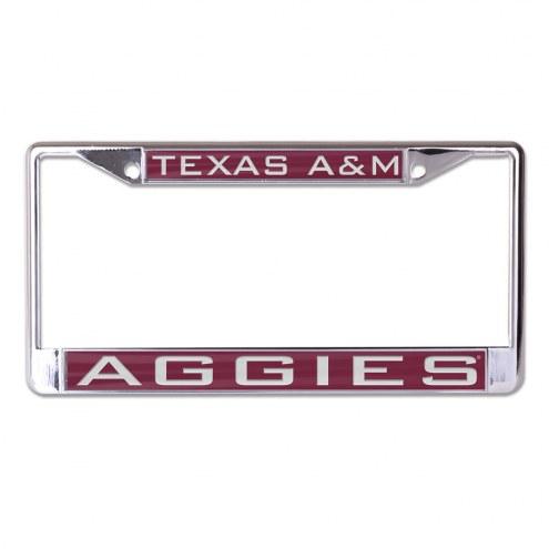 Texas A&M Aggies Metal License Plate Frame