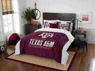 Texas A&M Aggies Modern Take Full/Queen Comforter Set