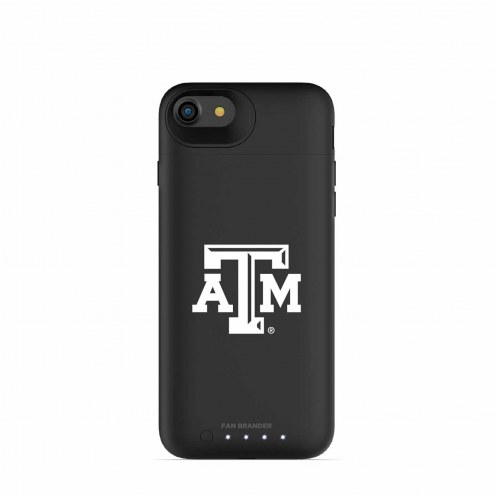 Texas A&M Aggies mophie iPhone 8/7 Juice Pack Air Black Case