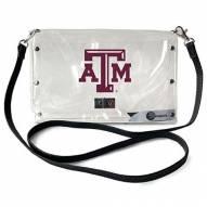Texas A&M Aggies Clear Envelope Purse
