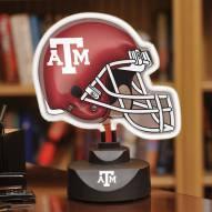 Texas A&M Aggies Neon Helmet Desk Lamp