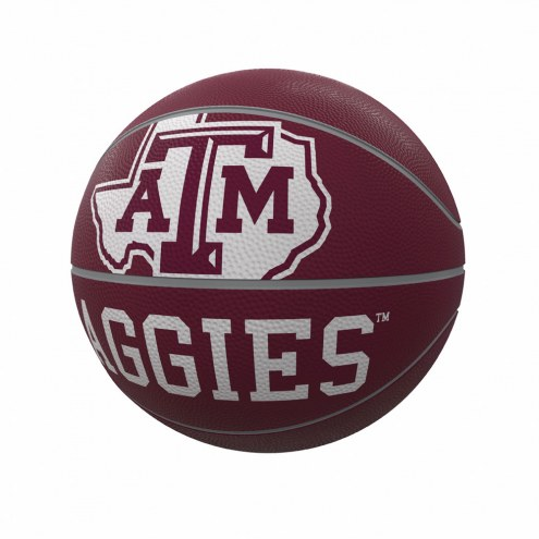Texas A&M Aggies Official Size Rubber Basketball