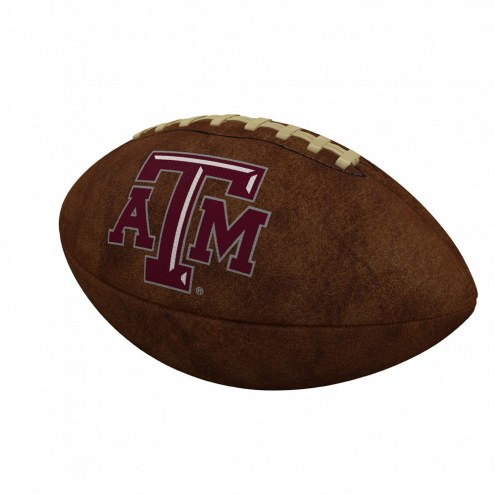 Texas A&M Aggies Official Size Vintage Football