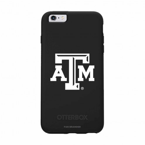 Texas A&M Aggies OtterBox iPhone 6/6s Symmetry Black Case