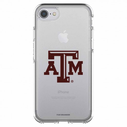 Texas A&M Aggies OtterBox iPhone 8/7 Symmetry Clear Case