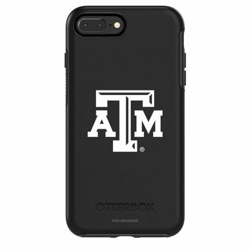 Texas A&M Aggies OtterBox iPhone 8 Plus/7 Plus Symmetry Black Case