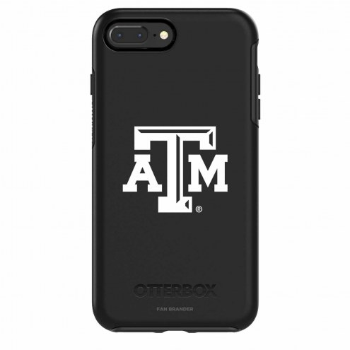 Texas A&M Aggies OtterBox iPhone 8 Plus/7 Plus Symmetry Black Case