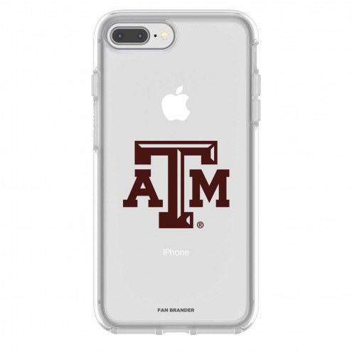Texas A&M Aggies OtterBox iPhone 8 Plus/7 Plus Symmetry Clear Case