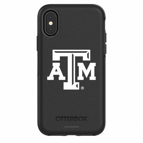 Texas A&M Aggies OtterBox iPhone X Symmetry Black Case