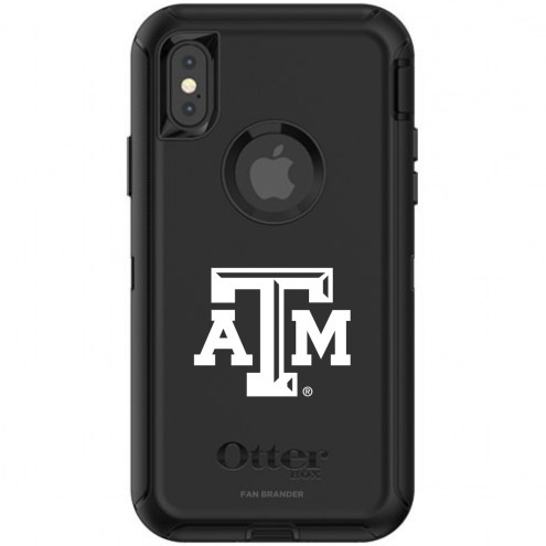 Texas A&M Aggies OtterBox iPhone X/Xs Defender Black Case