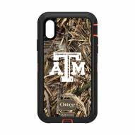 Texas A&M Aggies OtterBox iPhone XR Defender Realtree Camo Case