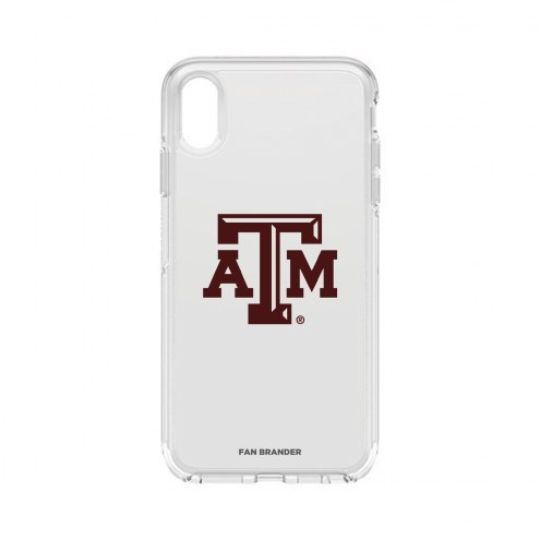 Texas A&M Aggies OtterBox iPhone XS Max Symmetry Clear Case