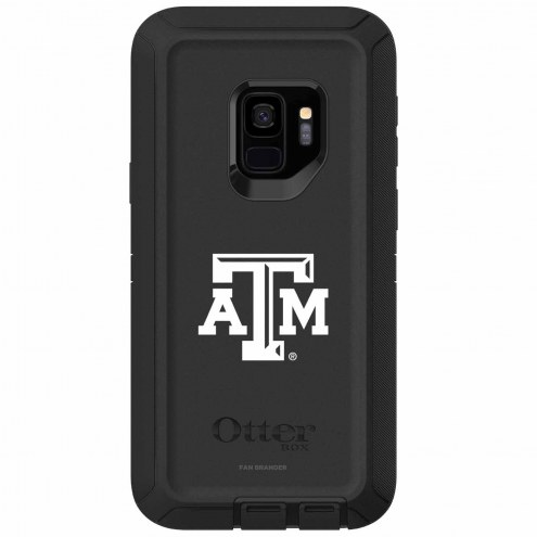 Texas A&M Aggies OtterBox Samsung Galaxy S9 Defender Black Case