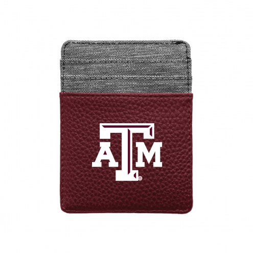 Texas A&M Aggies Pebble Front Pocket Wallet