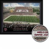 Texas A&M Aggies 11 x 14 Personalized Framed Stadium Print