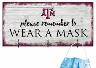 Texas A&M Aggies Please Wear Your Mask Sign