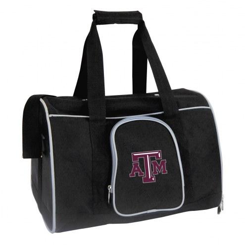 Texas A&M Aggies Premium Pet Carrier Bag