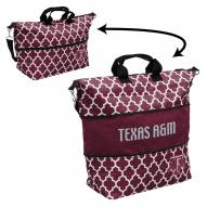 Texas A&M Aggies Quatrefoil Expandable Tote