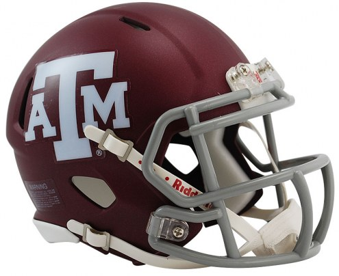 Texas A&M Aggies Riddell Speed Mini Collectible Football Helmet