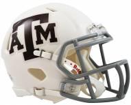 Texas A&M Aggies Riddell Speed Mini Collectible White Football Helmet