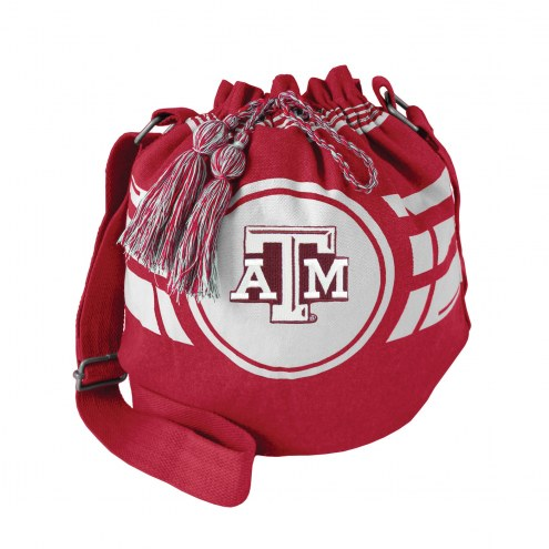 Texas A&M Aggies Ripple Drawstring Bucket Bag