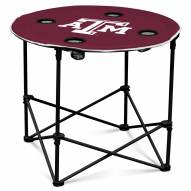 Texas A&M Aggies Round Folding Table