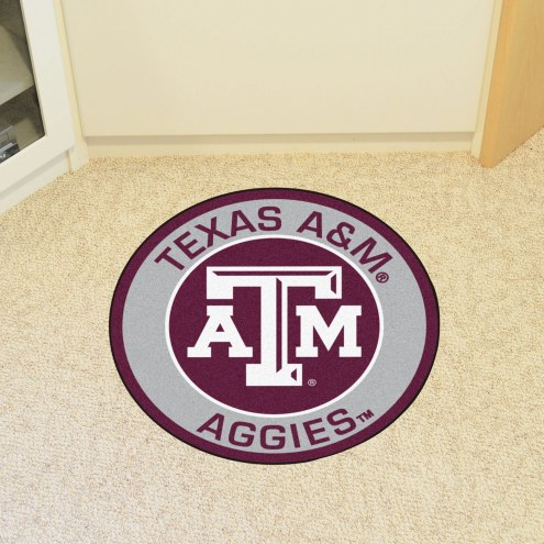 Texas A&M Aggies Rounded Mat