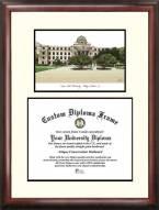 Texas A&M Aggies Scholar Diploma Frame