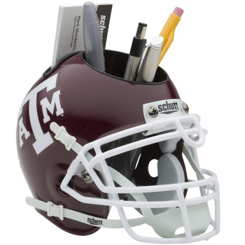 Texas A&M Aggies Schutt Football Helmet Desk Caddy