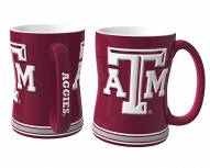 Texas A&M Aggies Sculpted Relief Coffee Mug