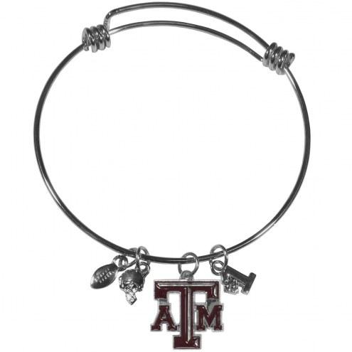 Texas A&M Aggies Charm Bangle Bracelet
