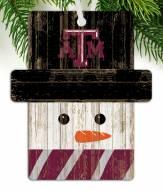 Texas A&M Aggies Snowman Ornament