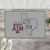 Texas A&M Aggies Southern Style Starter Rug