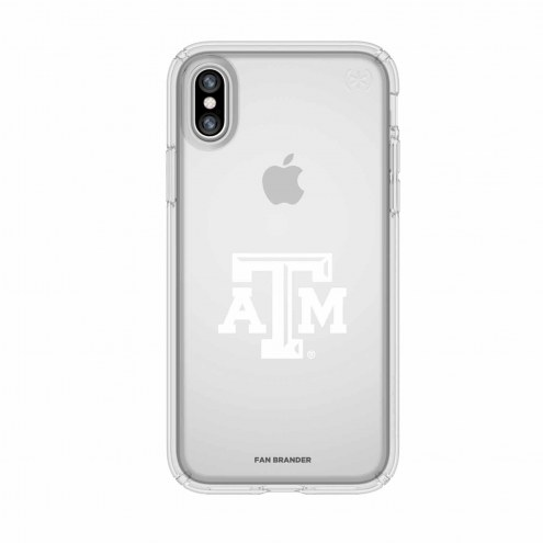 Texas A&M Aggies Speck iPhone X Presidio Clear Case