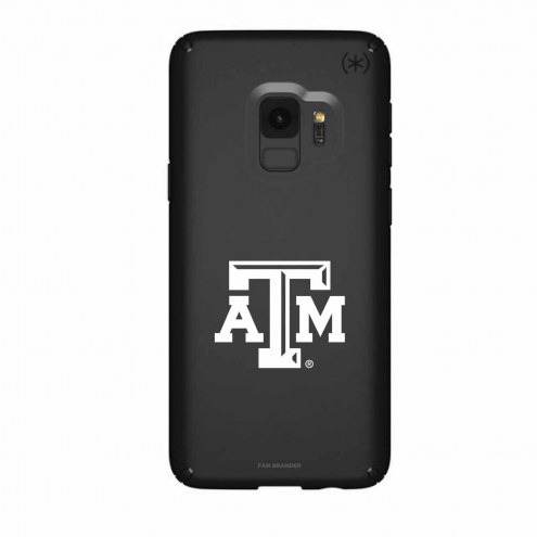 Texas A&M Aggies Speck Samsung Galaxy S9 Presidio Black Case