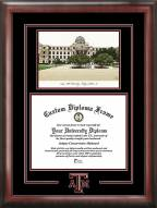 Texas A&M Aggies Spirit Diploma Frame with Campus Image