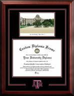 Texas A&M Aggies Spirit Graduate Diploma Frame