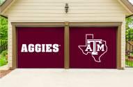Texas A&M Aggies Split Garage Door Banner