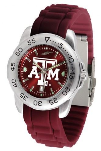 Texas A&M Aggies Sport Silicone Men's Watch