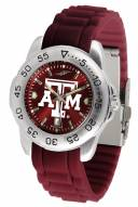 Texas A&M Aggies Sport Silicone Men's Watch