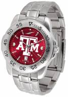 Texas A&M Aggies Sport Steel AnoChrome Men's Watch