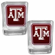 Texas A&M Aggies Square Glass Shot Glass Set