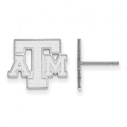 Texas A&M Aggies Sterling Silver Small Post Earrings