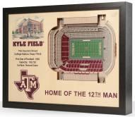 Texas A&M Aggies 25-Layer StadiumViews 3D Wall Art